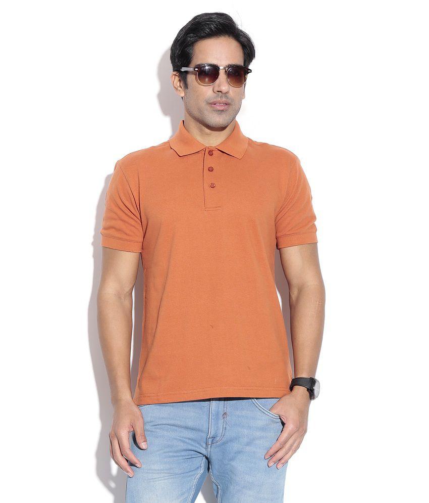Wilkins & Tuscany 10159 Stylish Rust Men T Shirt