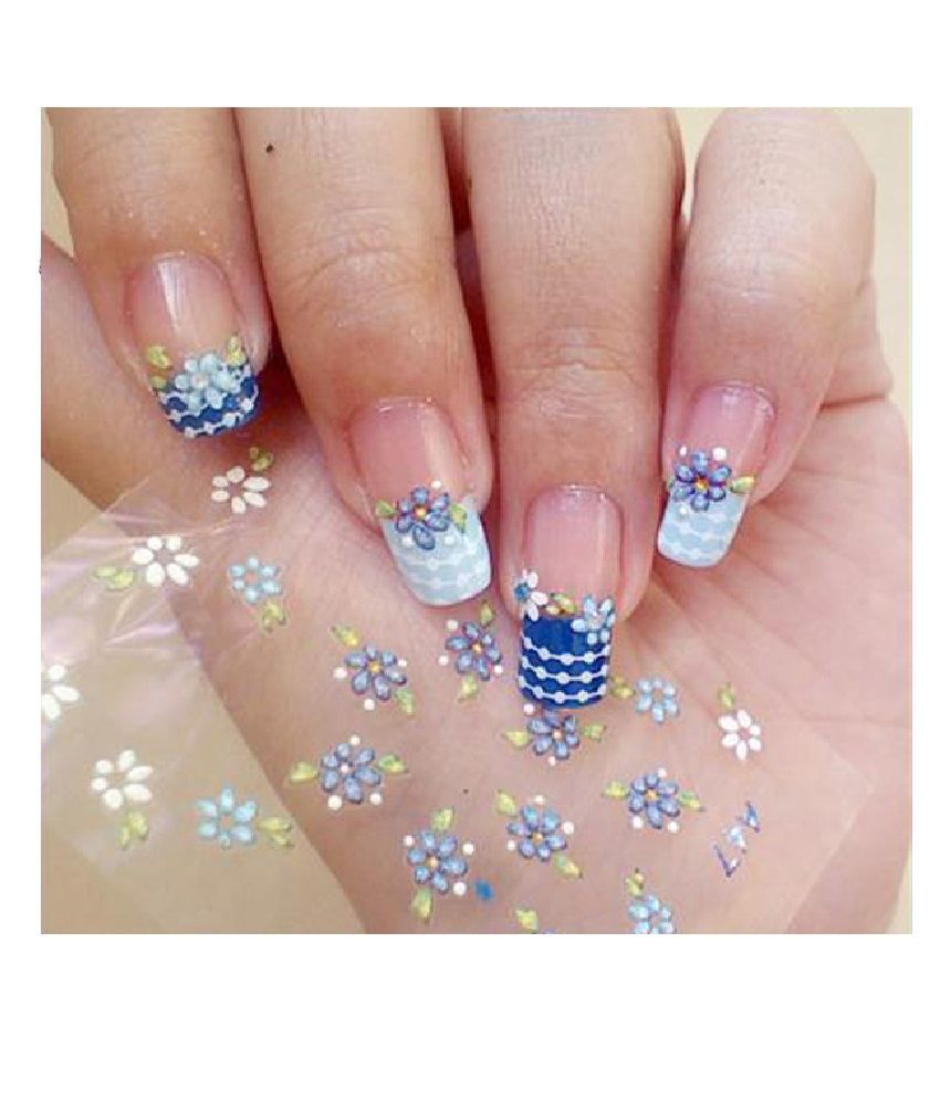 Stickers decals nail stickers nail art decals fashion -  Unique Collection 3d Decal Stickers Nail Art Decoration Manicure For Fashionable Girls Women 20