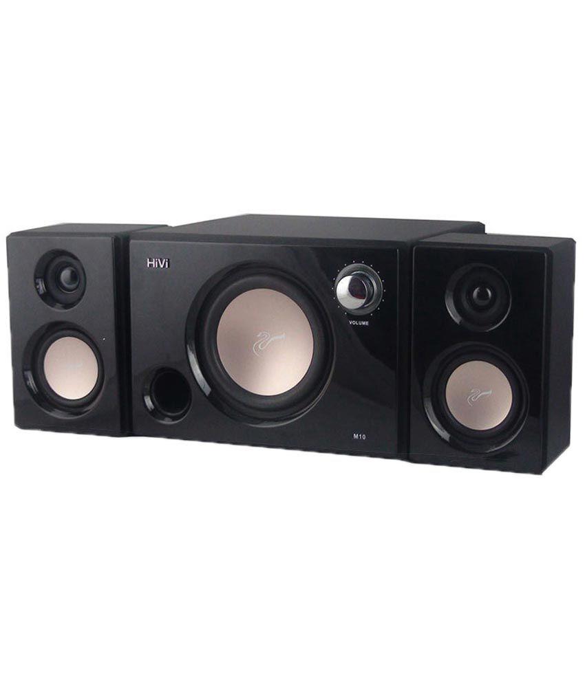 Swans M10 2.1 multimedia speakers  Black