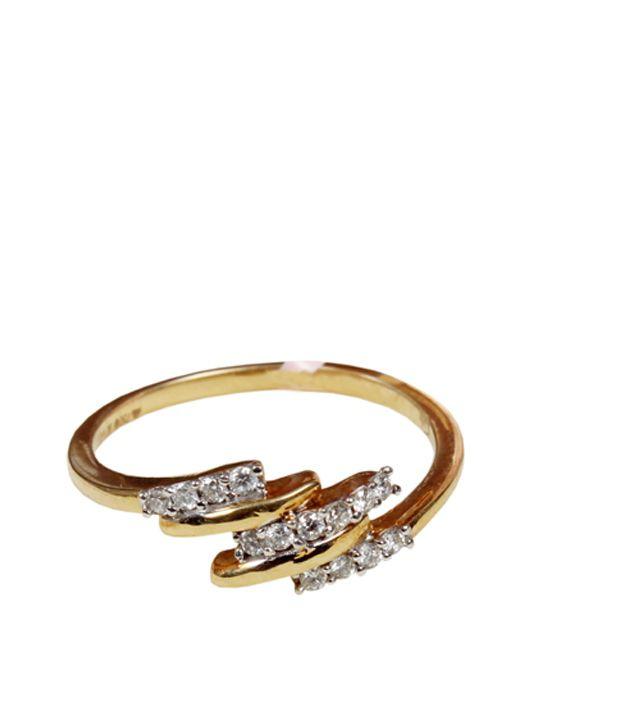 Gili Signature 18kt Gold Music Diamond Ring