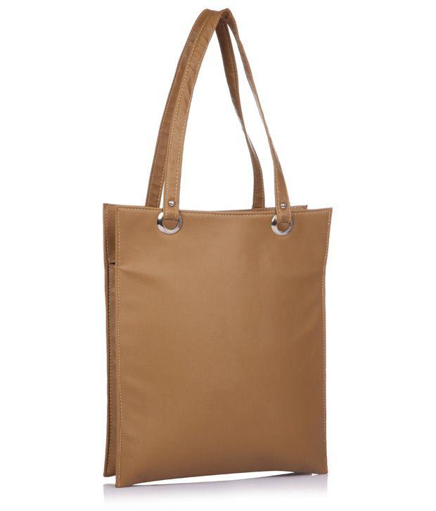 Utsukushii Beige Hand Bag