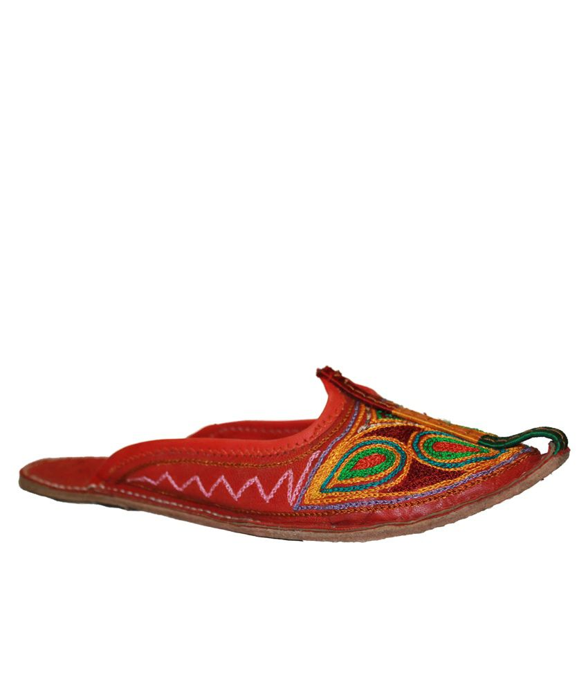 Authority Jaipuri Zig-zag Design Chappal