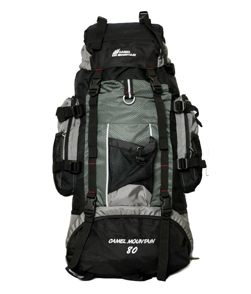1532232caa2 Camel Mountain 615 Grey Travel Backpack - Buy Camel Mountain 615 Grey  Travel Backpack Online at Low Price - Snapdeal