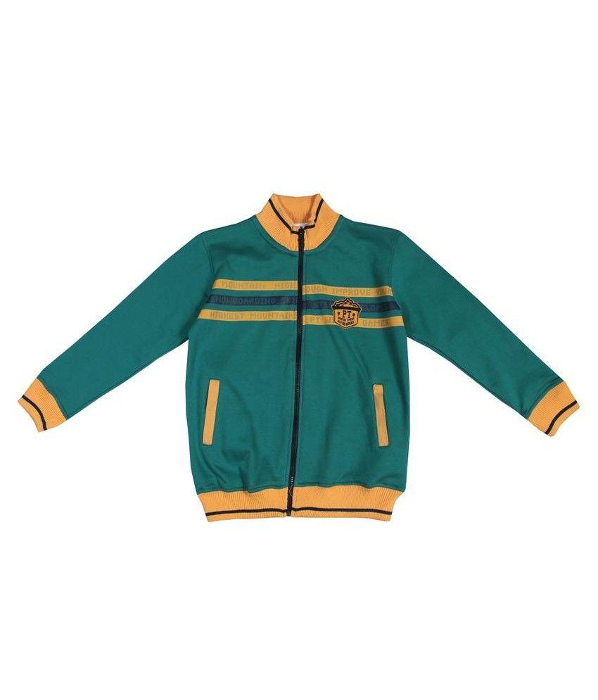 Gini & Jony Orange Knits Jacket