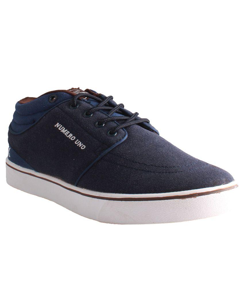 Numero Uno Blue Casual shoes