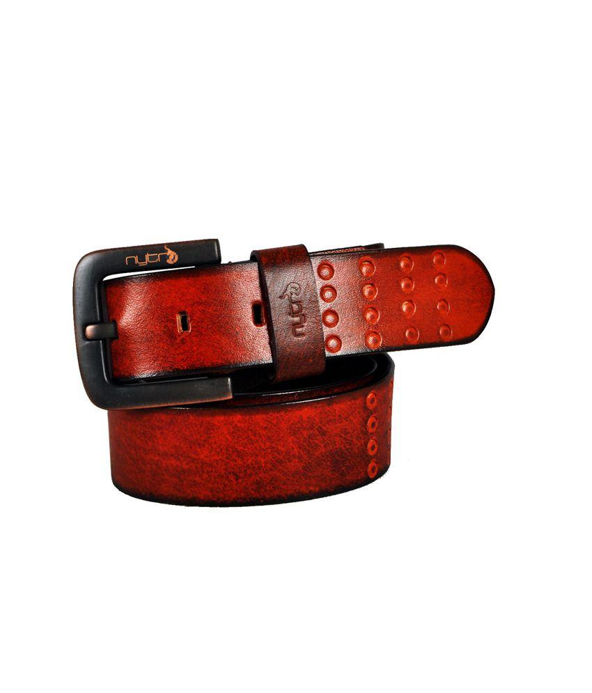 Nytro Tan Leather Belt