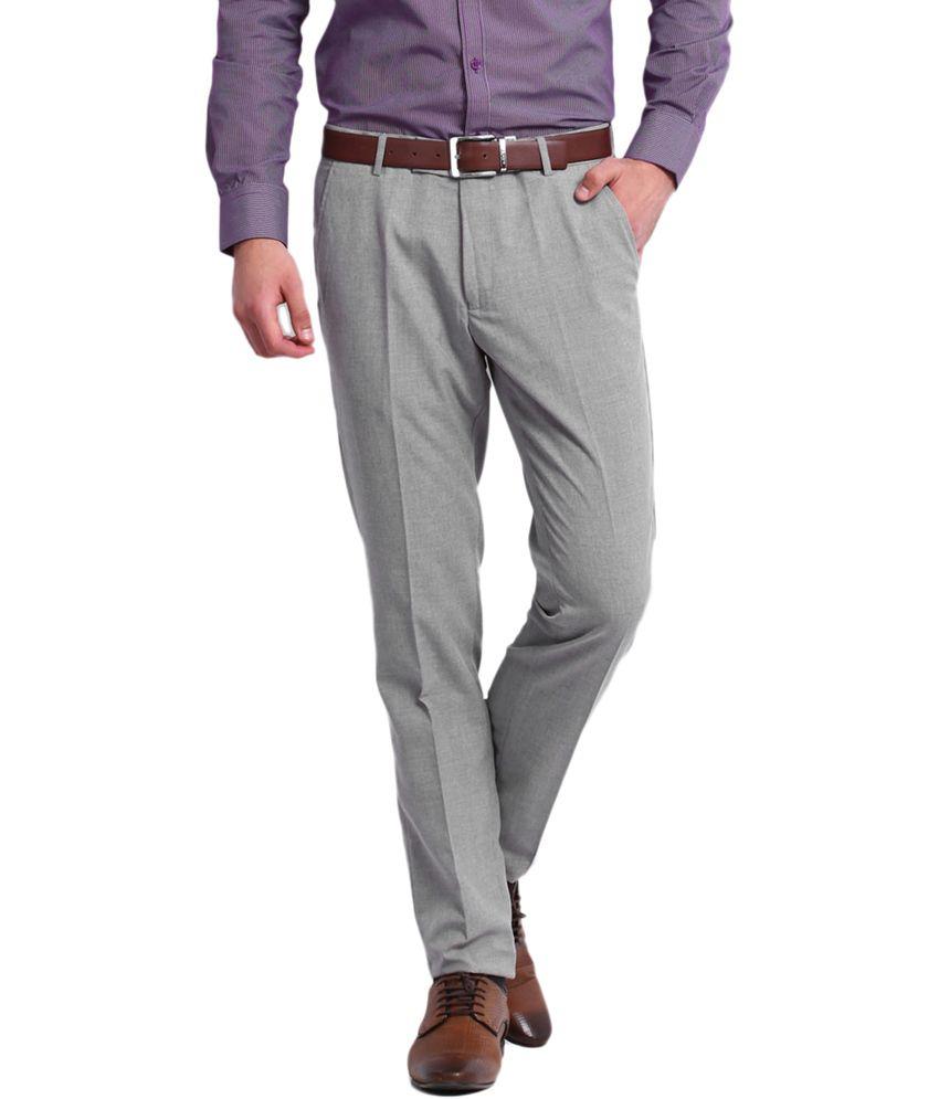 Style Green Regular Formal Flat Trouser