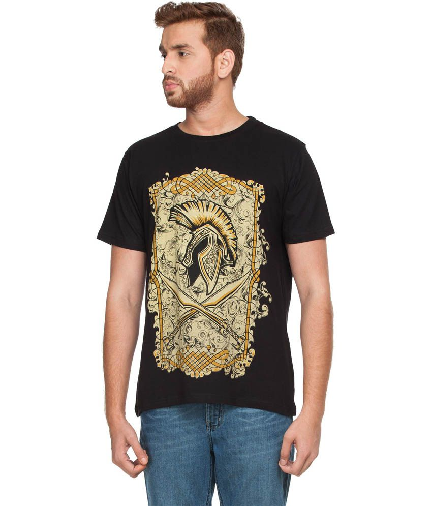 Zovi Black Victory Graphic T-shirt