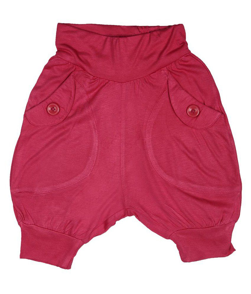 People Pink Shorts For Girls