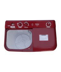 Haier XPB 72-0714DX 7.2 Kg.  Sparkle Red Semi Automatic  ...