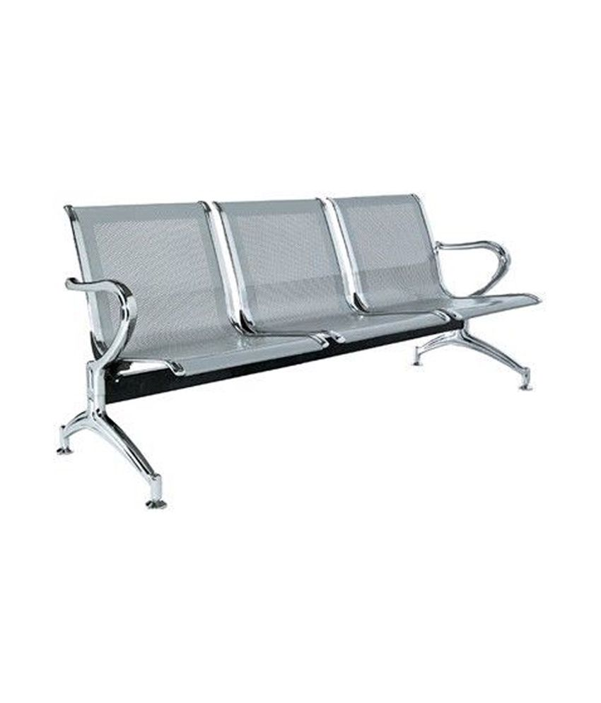 3 seater office bench rh snapdeal com