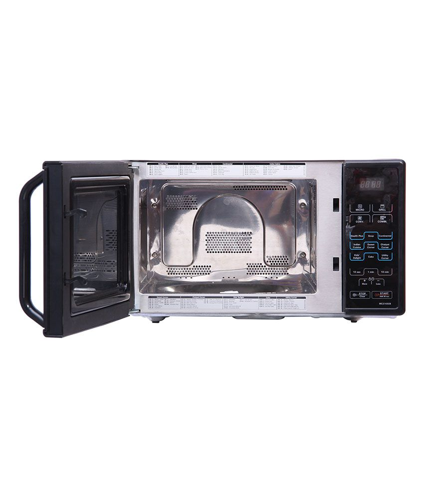 Lg 21 Ltr Mc2143cb Convection Microwave Oven Black