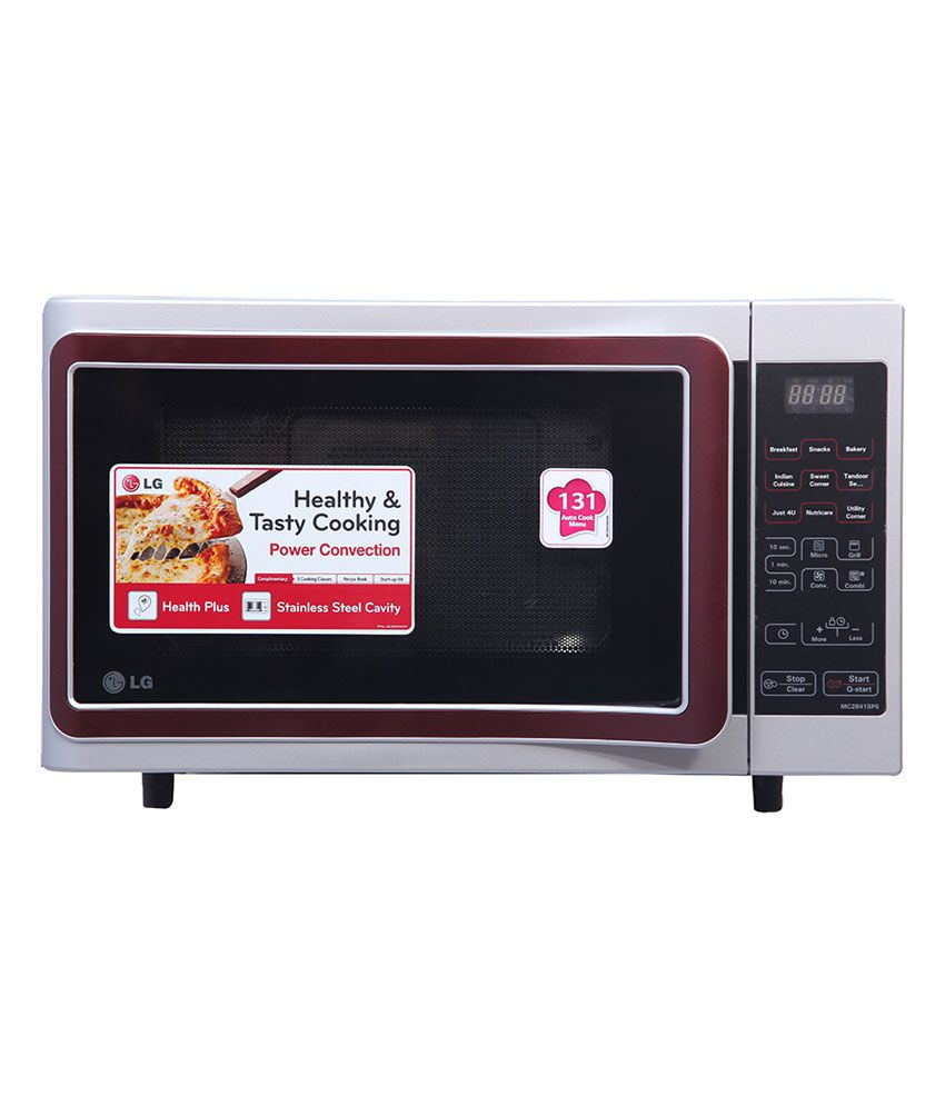 4a1ef313e58 LG 28 LTR MC2841SPS Convection Microwave Oven Price in India - Buy LG 28  LTR MC2841SPS Convection Microwave Oven Online on Snapdeal