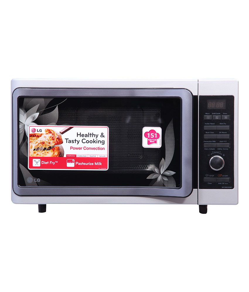 Lg 28 Ltr Mc2883smp Convection With Rotisserie Microwave
