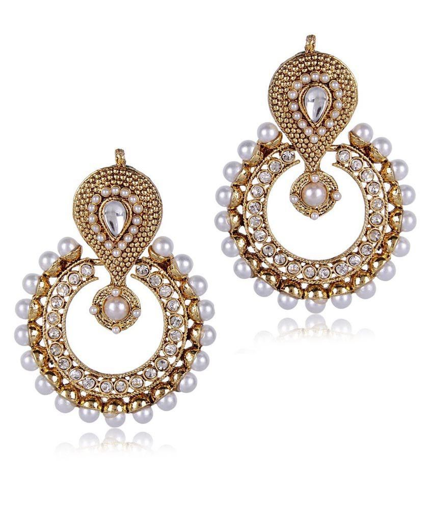 golden taniha earrings jewellery contemporary silver