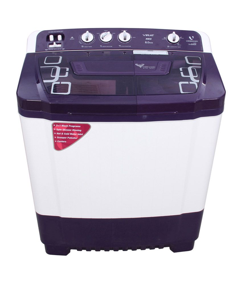 Videocon 8 Kg. Semi Automatic VS80P15 Washing Machine