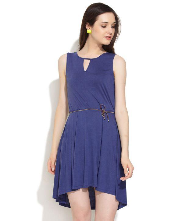 Levi'S Purple Viscose Dresses