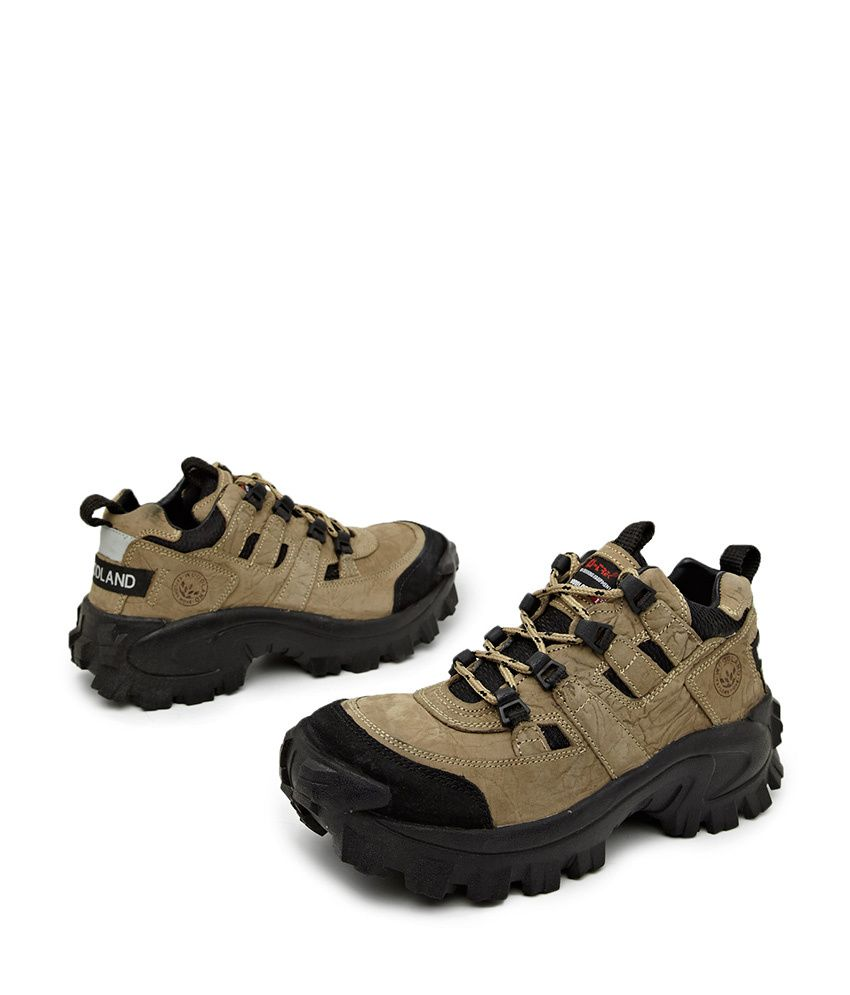 Woodland Brown Hiking Shoes
