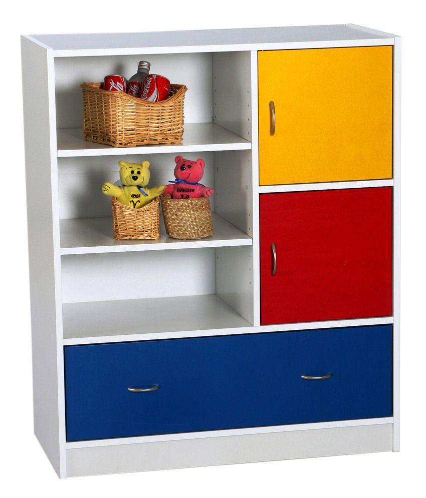 Furn Aspire Children Multi Color Bookshelf
