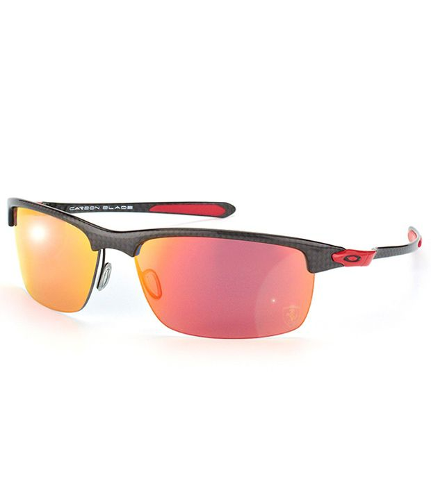 7a4ebe12833 Oakley Carbon Blade OO 9174-06 Medium Sunglasses - Buy Oakley Carbon Blade  OO 9174-06 Medium Sunglasses Online at Low Price - Snapdeal
