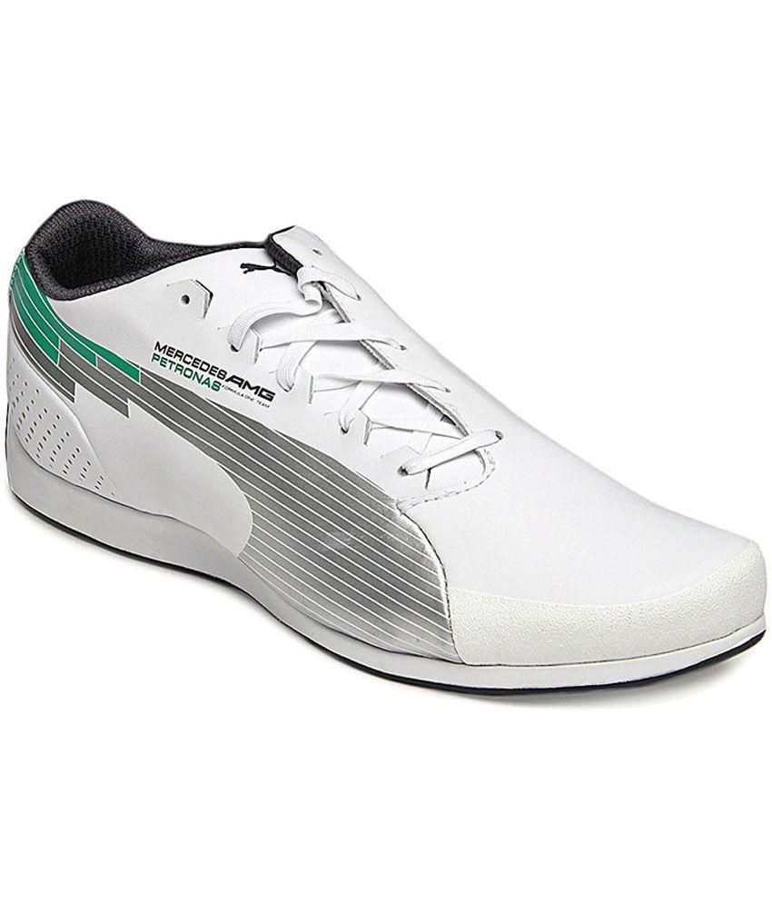 Puma Evospeed Low Mercedes Mamgp Nm Lifestyle Shoes - Buy ...