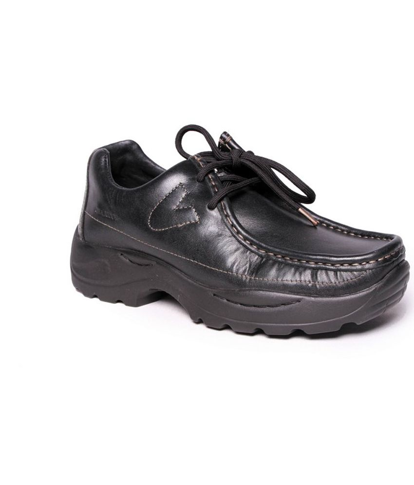 Woodland Black Outdoor Shoes Art G4035blk Buy Woodland Black