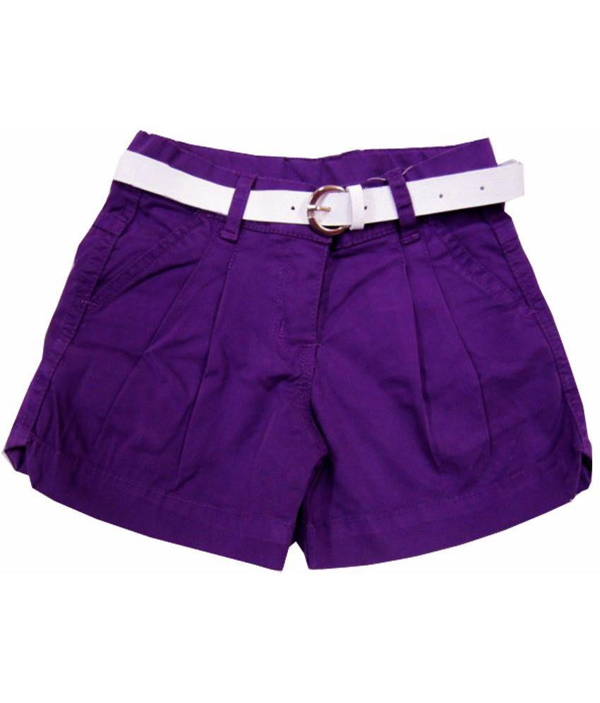 Catapult Girl's Purple Shorts