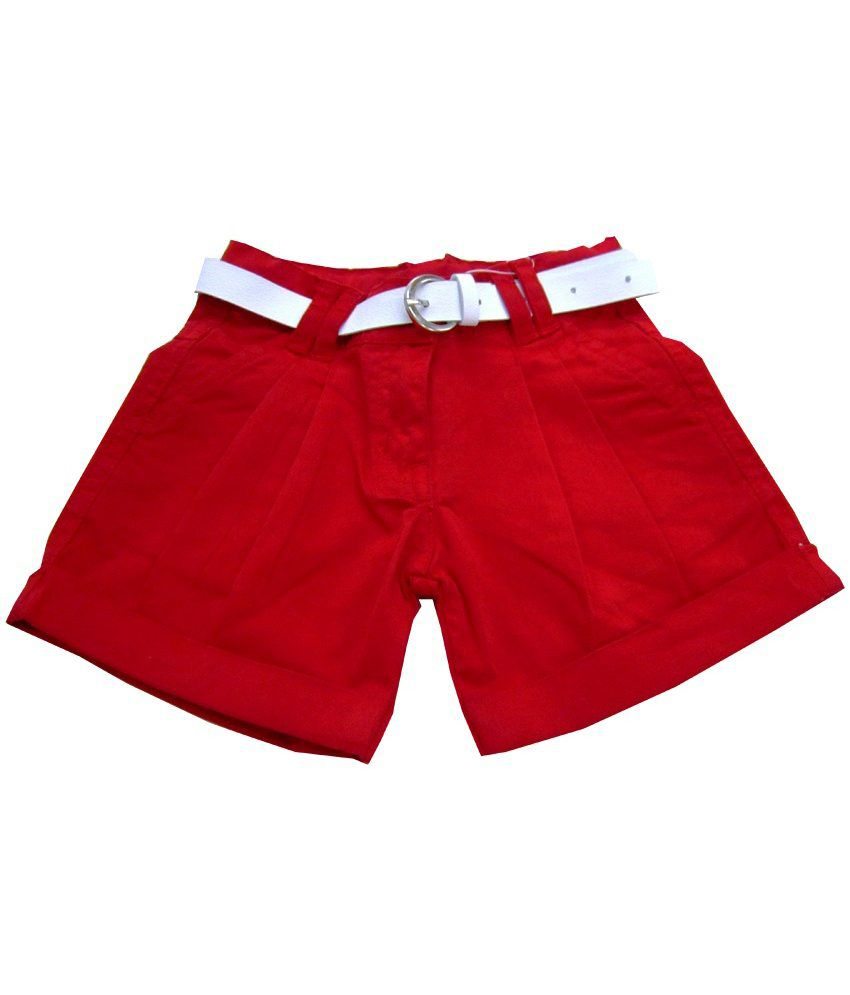 Catapult Girl's Red Shorts
