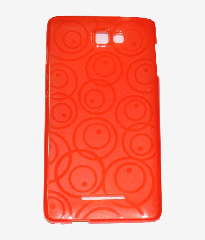 new products 17ca5 70eb2 Cell First Back Cover For Panasonic P81 - Red