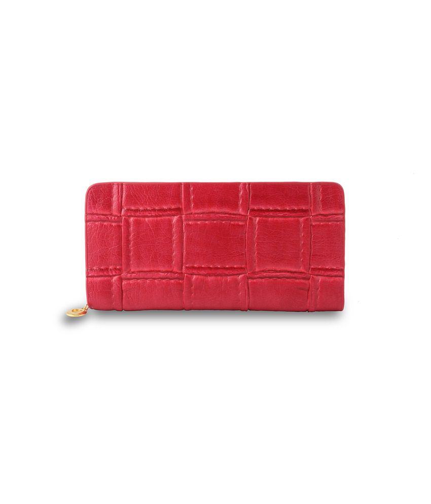 Dernier Cri Pink Wallet