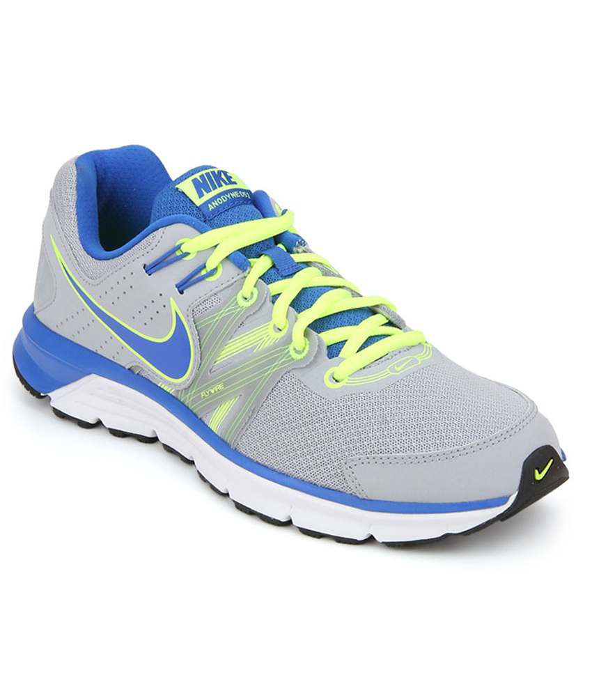 Nike Anodyne Ds 2 Grey Running Shoes