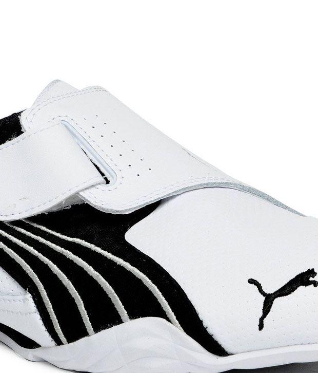a2331d462ef Puma White Sport Shoes(Taisoku 3 Sport Series) - Buy Puma White ...