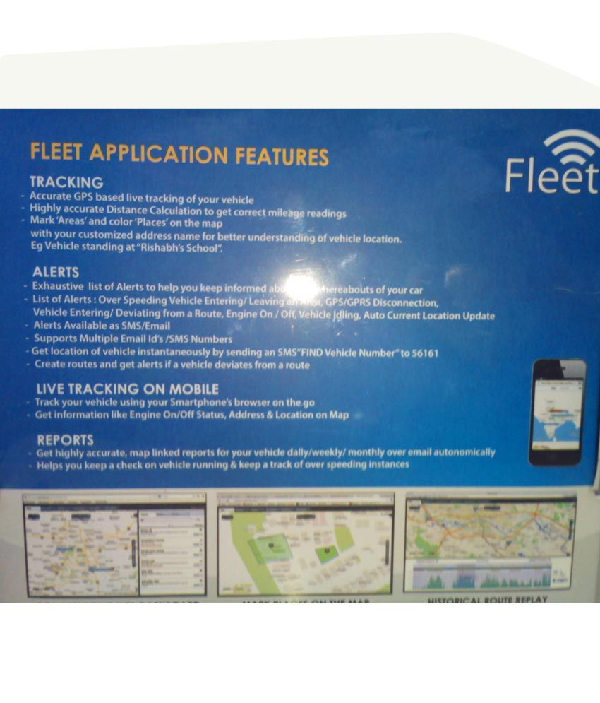 Map My India Vehicle Tracking Device