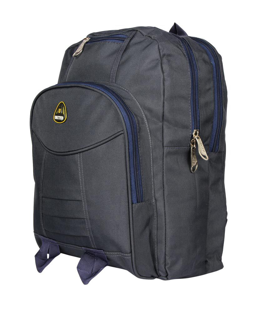 United Blue Extra Sewn Strong Laptop Backpack