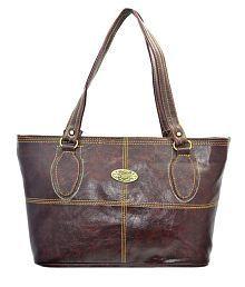 Lady Queen-056 Brown Shoulder Bag