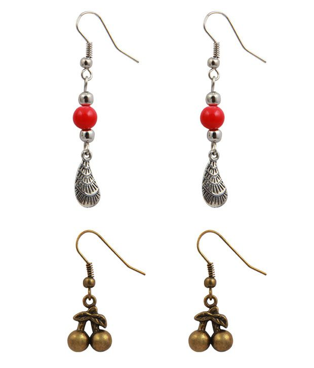Jewelizer Rock Chick Earrings Combo Jfec10006