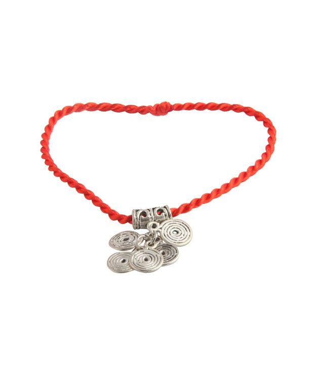 Jewelizer Stylish Wrap Rope Charm Bracelet B10027