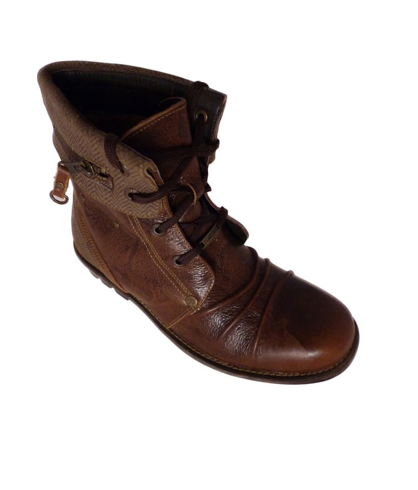 Woodland Gb915110-brown Casual Shoes For Men Size :(6 Uk ...
