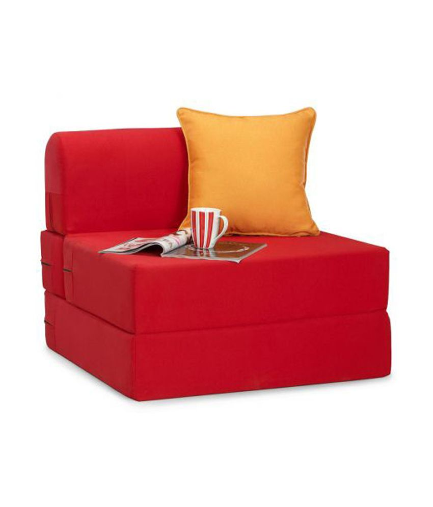 Zeal one seater sofa cum bed buy zeal one seater sofa for Sofa bed 1 seater