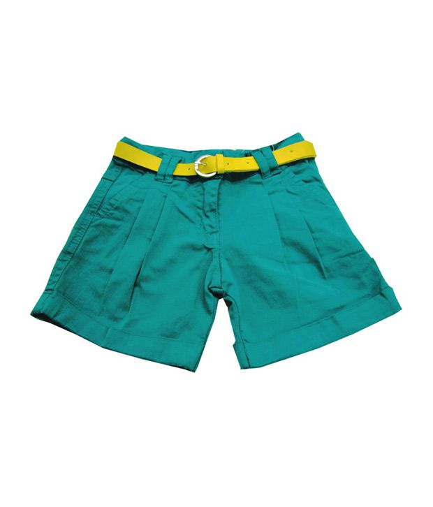 Catapult Girl's Green Shorts