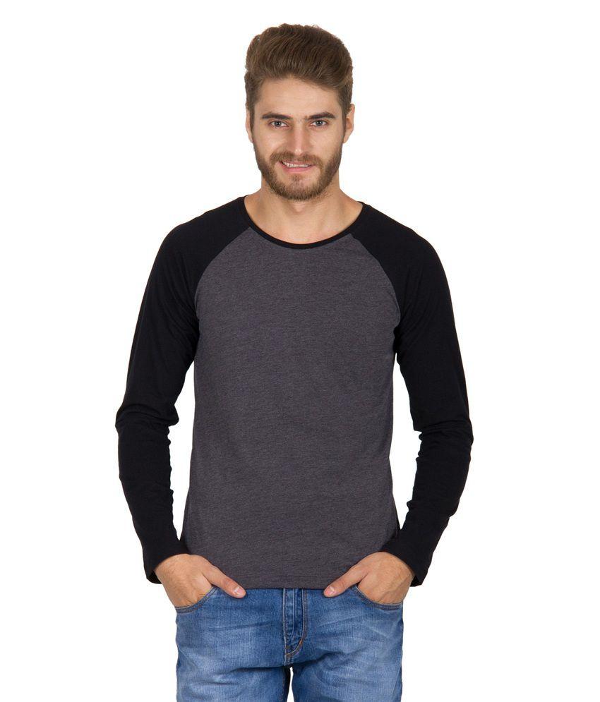 Rigo Gray Cotton T-shirt
