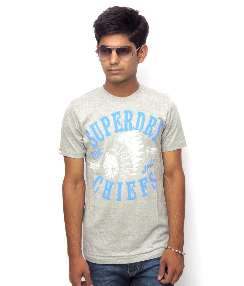 Superdry Gray Tshirt