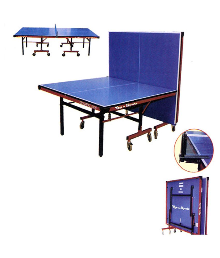 olympic indoor tt table buy online at best price on snapdeal rh snapdeal com