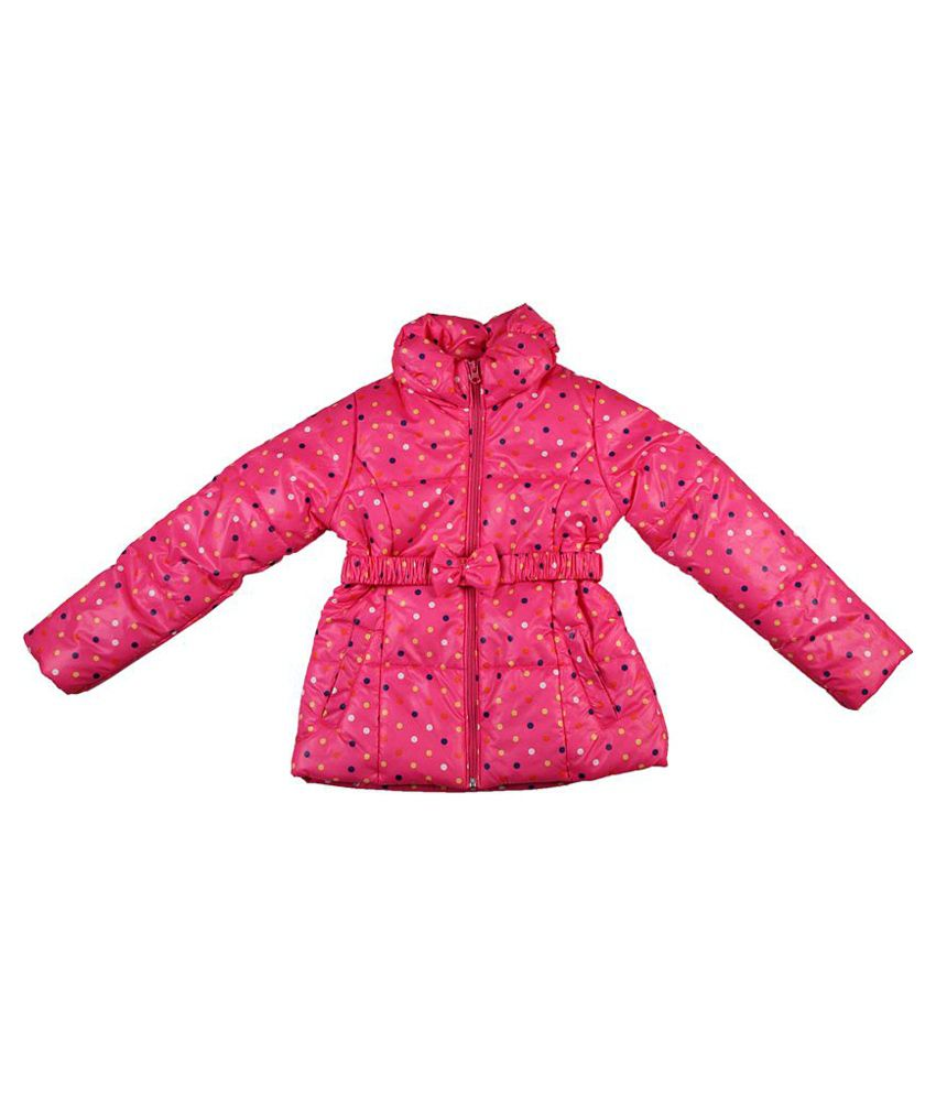 People Polka Dot Quilted Jacket