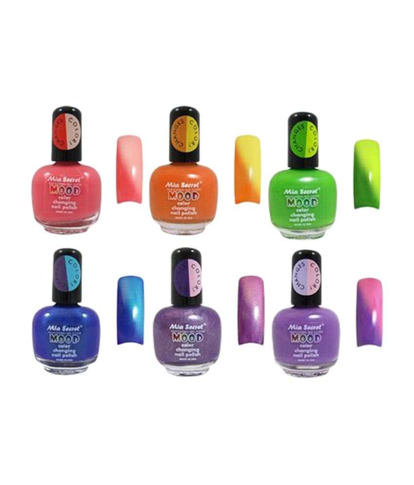 Mia Secret Mood Nail Lacquer Color Changing Nail Polish Buy Mia