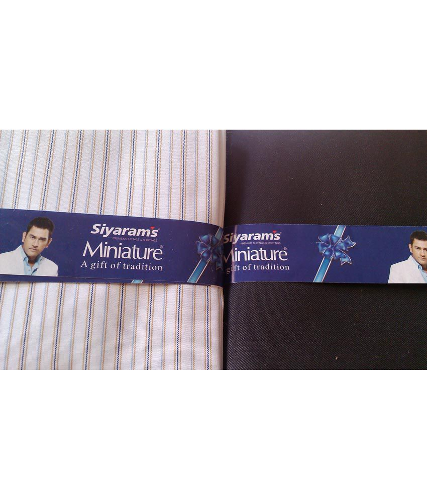 Siyaram mistair unstitched shirts and trousers piece buy for Buy 1 get 1 free shirts