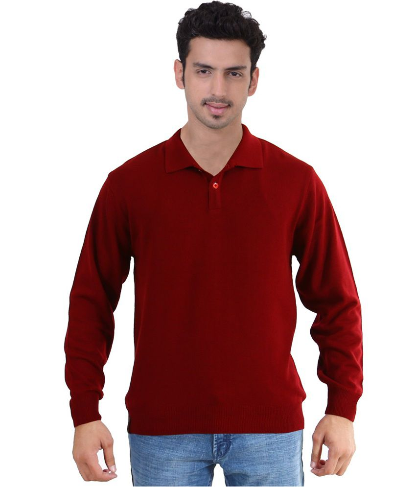 sportking maroon color t shirt for men buy sportking