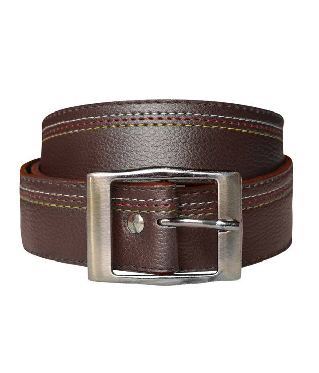 Bueva Brown Formal Belt