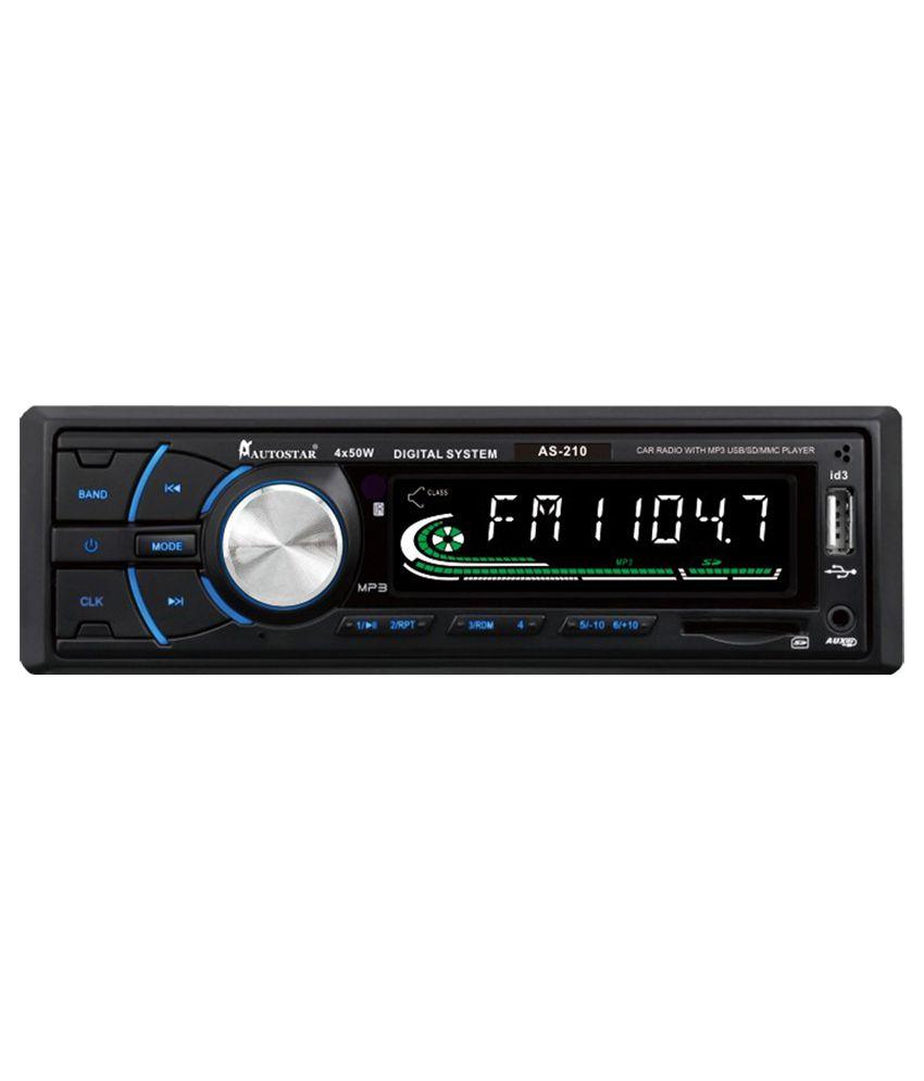 Autostar Car Stereo Usb Fm As-210