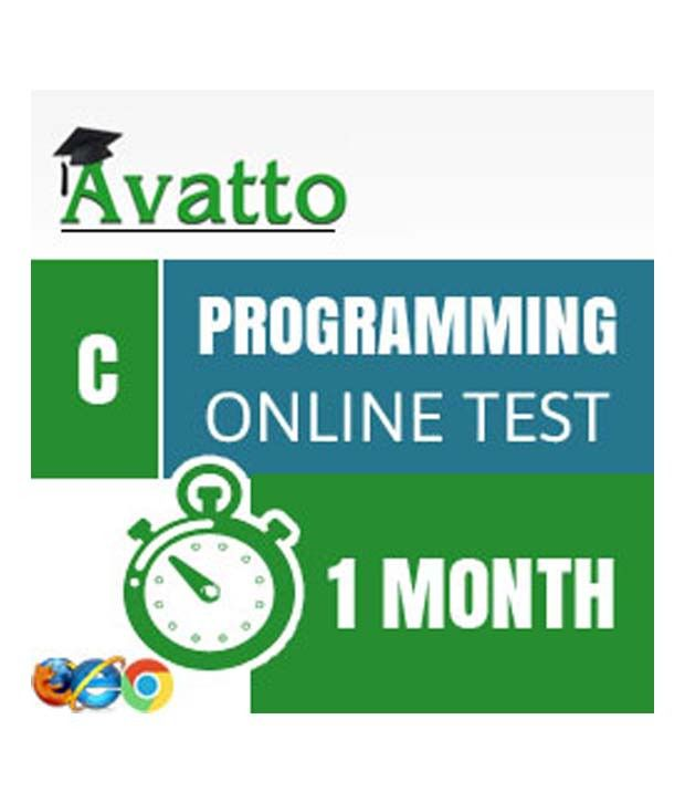 C Programming Online Test By Avatto Buy C Programming